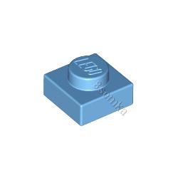 KLOCEK LEGO PLATE 1X1 MEDIUM BLUE - 3024