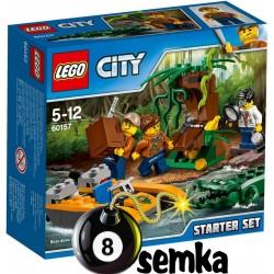 LEGO CITY 60157 DŻUNGLA — ZESTAW STARTOWY
