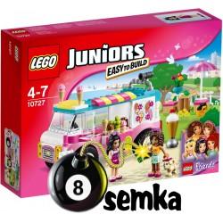 LEGO JUNIORS 10727 FURGONETKA Z LODAMI