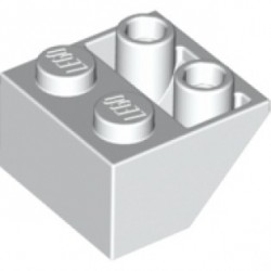 KLOCEK LEGO SKOS ODWRÓCONY 2X2  WHITE - 3660