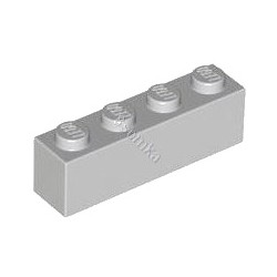 KLOCEK LEGO BRICK 1X4 LIGHT BLUISH GRAY - 3010