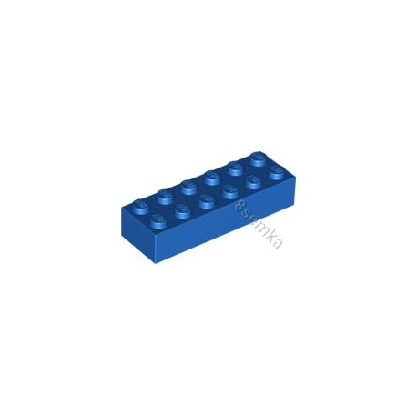 KLOCEK LEGO BRICK 2X6 BLUE - 2456