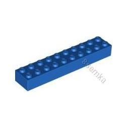 KLOCEK LEGO BRICK 2X10 BLACK - 3006