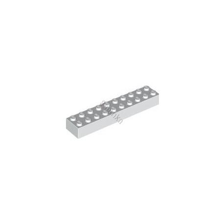 KLOCEK LEGO BRICK 2X10 WHITE - 3006