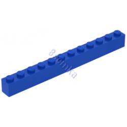 KLOCEK LEGO BRICK 1X12 BLUE - 6112