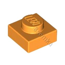 KLOCEK LEGO PLATE 1X1 ORANGE - 3024