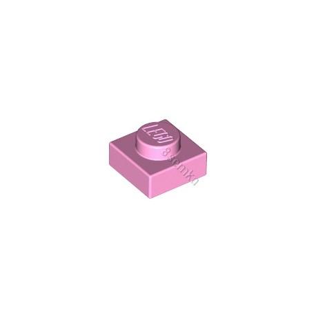 KLOCEK LEGO PLATE 1X1 PINK - 3024