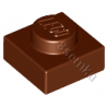 KLOCEK LEGO PLATE 1X1 REDDISH BROWN - 3024