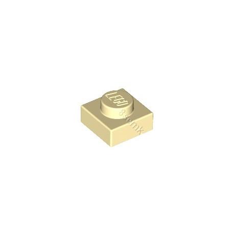 KLOCEK LEGO PLATE 1X1 TAN - 3024