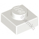 KLOCEK LEGO PLATE 1X1 WHITE - 3024