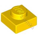 KLOCEK LEGO PLATE 1X1 YELLOW - 3024