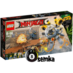 LEGO NINJAGO MOVIE 70610 LATAJĄCA MEDUZA