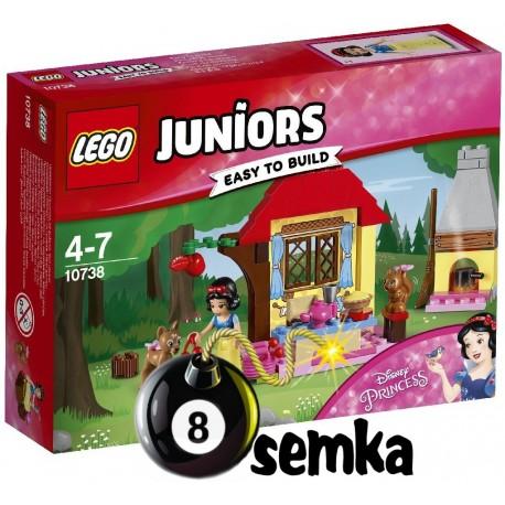 LEGO JUNIORS 10738 LEŚNA CHATA KRÓLEWNY ŚNIEŻKI