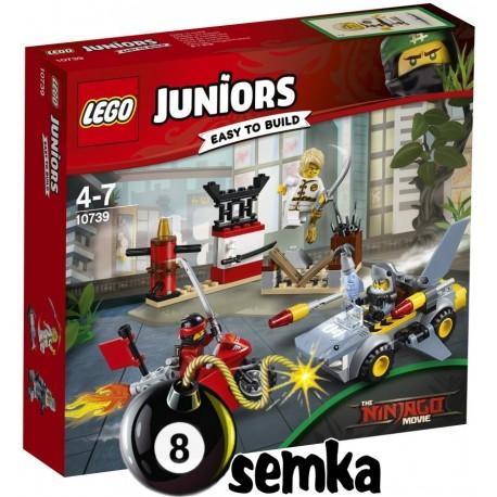 LEGO JUNIORS 10739 NINJAGO ATAK REKINÓW