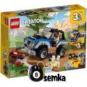 LEGO CREATOR 31075 ZABAWY NA DWORZE 3w1