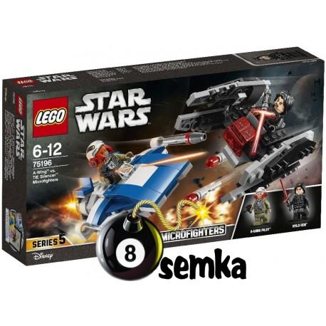 Lego STAR WARS 75196 A-WING KONTRA TIE SILENCER