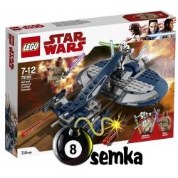 Lego STAR WARS 75199 ŚCIGACZ BOJOWY GENERAŁA GRIEVOUS