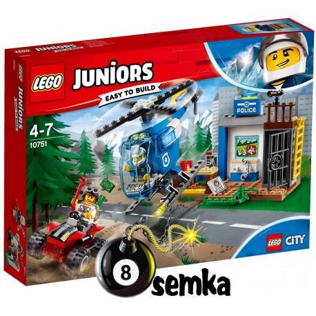 LEGO JUNIORS 10751 GÓRSKI POŚCIG POLICYJNY