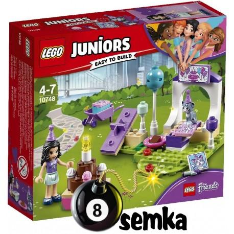LEGO JUNIORS FRIENDS 10748 PRZYJĘCIE DLA ZWIERZAKÓW EMMY
