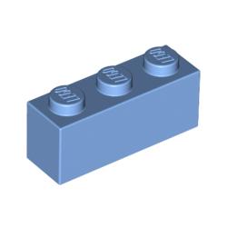 KLOCEK LEGO BRICK 1X3 MEDIUM BLUE - 3622