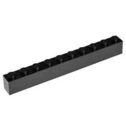 KLOCEK LEGO BRICK 1X10 BLACK - 6111