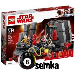 Lego STAR WARS 75216 SALA TRONOWA SNOKE'A