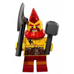 LEGO 71018 MINIFIGURES 17 KRASNOLUD WOJOWNIK
