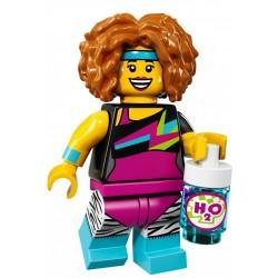 LEGO 71018 MINIFIGURES 17 INSTRUKTORKA FITNESS
