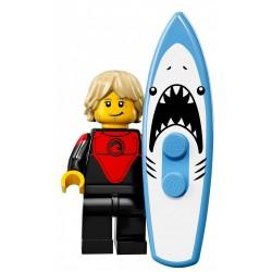 LEGO 71018 MINIFIGURES 17 PROFESJONALNY SURFER