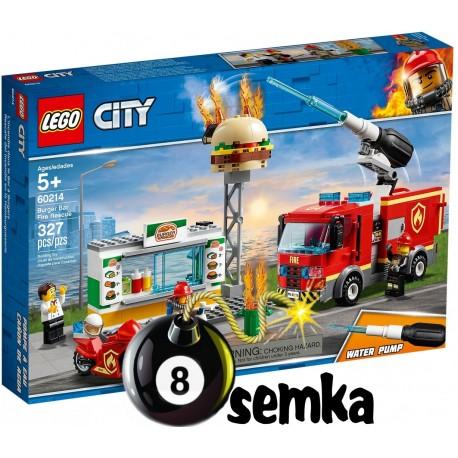 LEGO CITY 60214 NA RATUNEK W PŁONĄCYM BARZE
