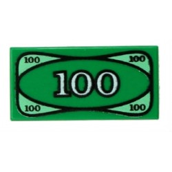 LEGO CITY BANKNOT 100$