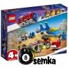 LEGO THE MOVIE 70821 WARSZTAT EMMETA I BENKA
