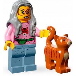 LEGO MINIFIGURES 71004 MOVIE PANI ZDRAPKA KOT