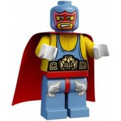 LEGO 1 SERIA Minifigures 8683 WREASTLER ZAPAŚNIK