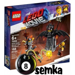 LEGO THE MOVIE 70836 BATMAN I STALOWO BRODY