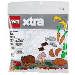 LEGO XTRA 40309 AKCESORIA SPOŻYWCZ