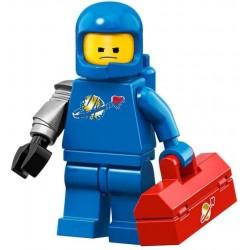 LEGO MINIFIGURES 71023 MOVIE 2 BENEK Z MECHANICZNYM RAMIENIEM