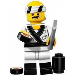 LEGO 71019 NINJAGO MOVIE MINIFIGURES KUCHARZ SUSHI