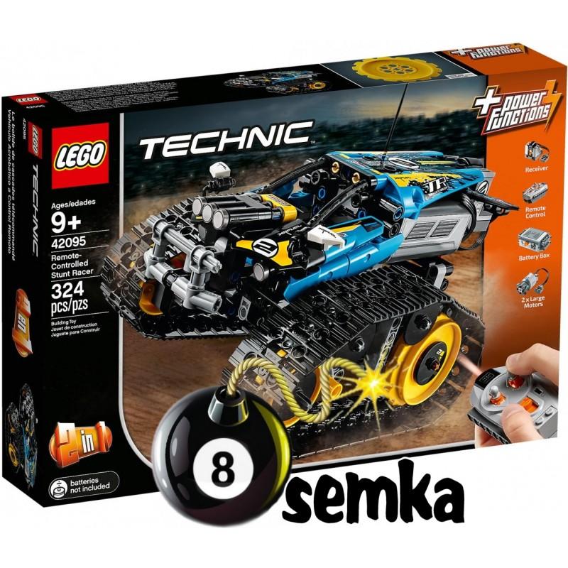 Lego Technic 42095 Zdalnie Sterowana Wyścigówka Kaskaderska 2w1