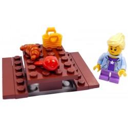 LEGO CITY ŁAWKA PIKNIKOWA Z DZIEWCZYNKĄ
