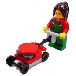 LEGO CITY PANI Z KOSIARKĄ