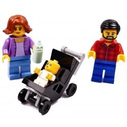 LEGO CITY TATA MAMA DZIECKO W WÓZKU