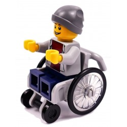LEGO CITY PAN CHŁOPIEC NA WÓZEK INWALIDZKI
