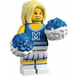 LEGO 1 SERIA Minifigures 8683 CHEERLEDERKA