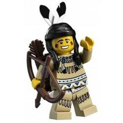 LEGO 1 SERIA Minifigures 8683 INDIANKA