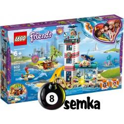 LEGO Friends 41380 Centrum Ratunkowe w latarni Morskiej