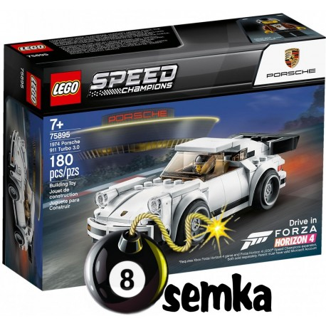 LEGO SPEED CHAMPION 75895 PORSCHE 911 TURBO 3.0