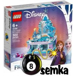 LEGO DISNEY FROZEN 41168 Szkatułka na biżuterię Elsy