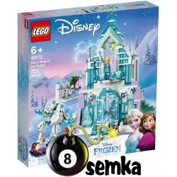 LEGO DISNEY FROZEN 43172 MAGICZNY LODOWY PAŁAC ELSY