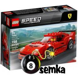LEGO SPEED CHAMPION 75890 Ferrari F40 Competizione
